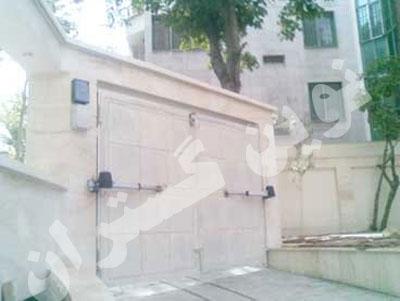 پروژه نصب درب اتوماتیک پارکینگی - شرکت <a href=