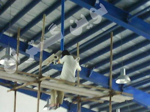 پروژه نصب دوربین مدار بسته - شرکت <a href=